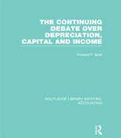 Continuing Debate Over Depreciation, Capital and Income (RLE Accounting)